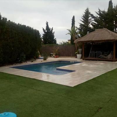 Reforma piscina después