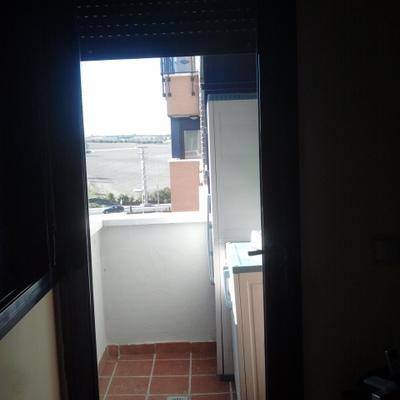 ventana de entrada a terraza