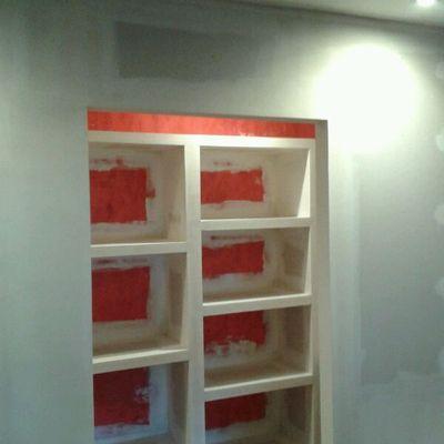 vestidor con armario de pladur