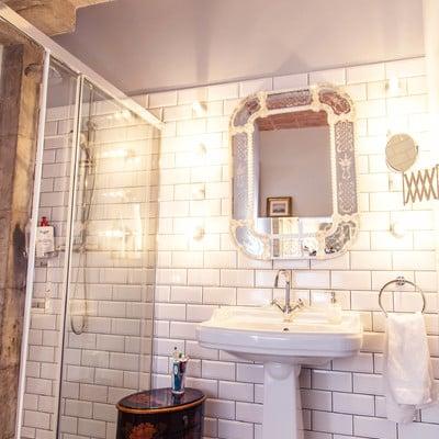 Reforma de baño estilo vintage