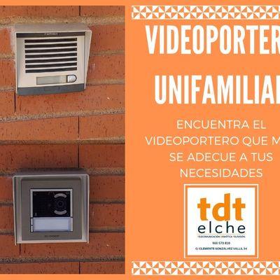 VIDEOPORTERO UNIFAMILIAR