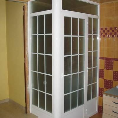 vidrios con barrotillo