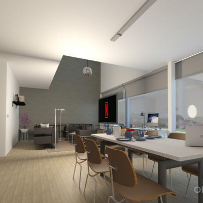 Visualización 3D interior | Viviendas unifamiliares en Vigo