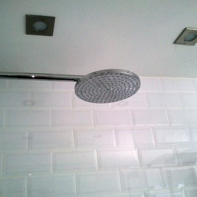 vista columna de ducha