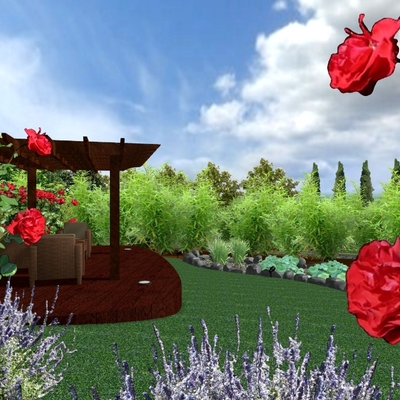 Vista en 3D, proyecto en Granada