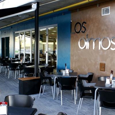 Vista exterior de restaurante
