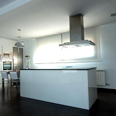 Vista interior cocina