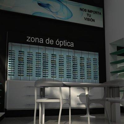 Reforma de farmacia en Zamora: Interior