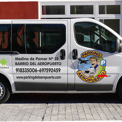 Rotulación de furgoneta para negocio