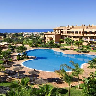 Vista piscina hotel