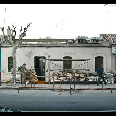 Vivienda Barrio Obrero Puerto de Sagunto. DAU arquitectos.