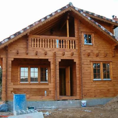 Vivienda de madera