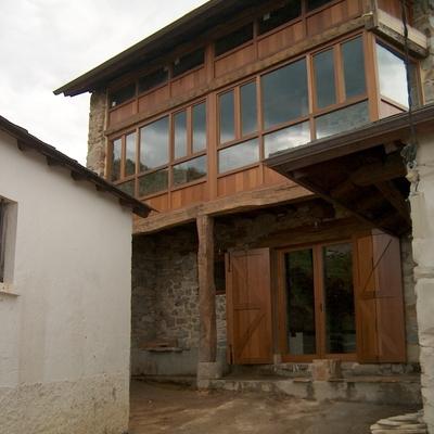 Vivienda en zona rural de asturias