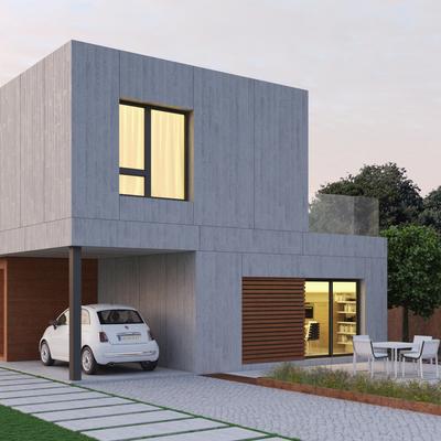 Vivienda modular 190 m2