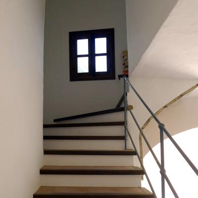 Vivienda unifamiliar Almonaster la Real (Huelva) /  Acceso vivienda