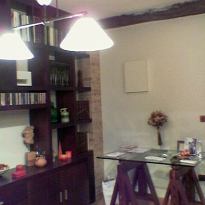 Vivienda unifamiliar en bloque sita en Sevilla. Salón 2
