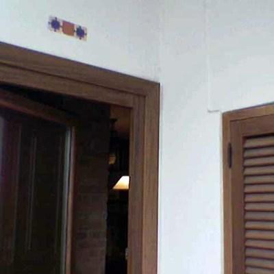 Vivienda unifamiliar en bloque sita en Sevilla. Terraza