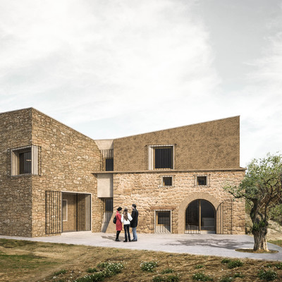 Vivienda Unifamiliar en Torre del Compte (Matarraña)  Teruel