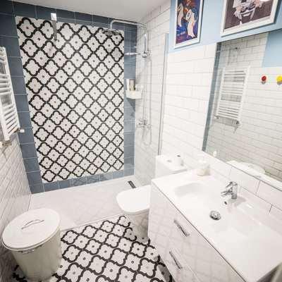 Bonito cuarto de baño tendencia
