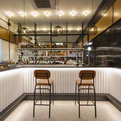 Diseño barra de bar