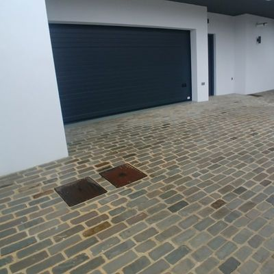 Reforma de entrada a garaje