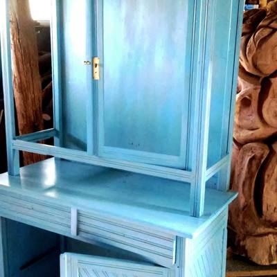 Restauración de mueble.