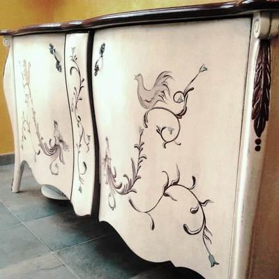 restauración de mueble antiguo