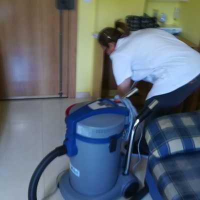Aspiramos el polvo de obra