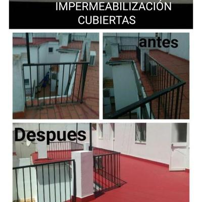 Impermeabilización de cubiertas.