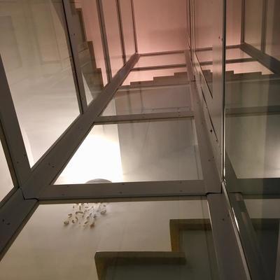 elevador con extructura autoportante