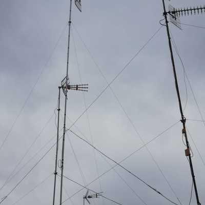 Antena nueva de 7,5 metros