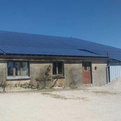 Instalacion fotovoltaica aislada