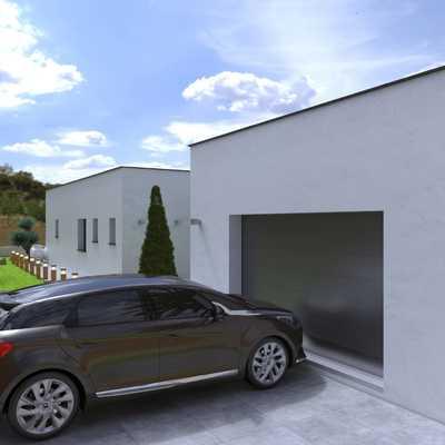 Vista garaje proyecto Roda de Berà