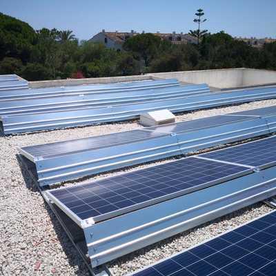 Fotovoltaica aerodinamica sin perforacion 2