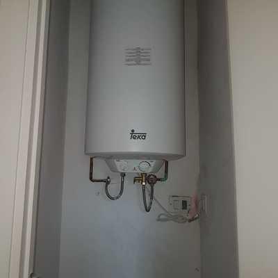 instalación de termo eléctrico 100l TEKA