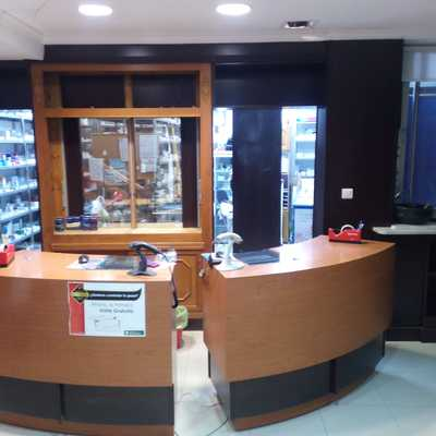 Mostrador farmacia