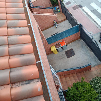 tejado limpio