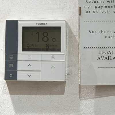 termostato tienda