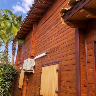 Restauración casa madera