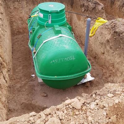 Depósito de gas propano Eternella 2450L Enterrado