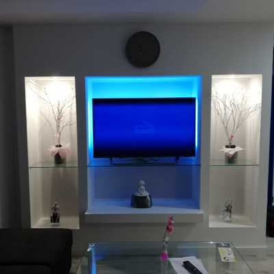 tv en salón