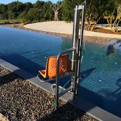 grua para piscina