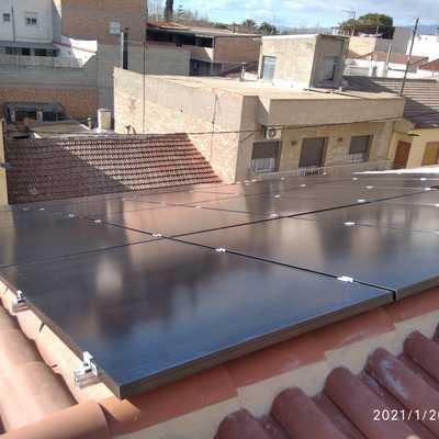 Instalación de autoconsumo en Torres de Cotillas, Murcia