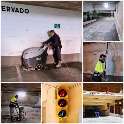 Limpieza Mecanizada y Manual de Parking