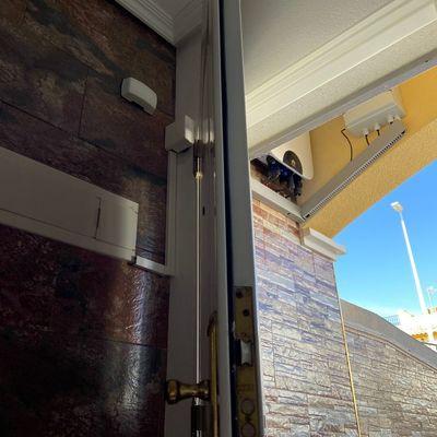 Entrada a cuadro Instalación vivienda particular conectada a red 1,8kWp