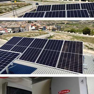 INSTALACIÓN AUTO CONSUMO 3.6 KW (Cehegin ) - Murcia