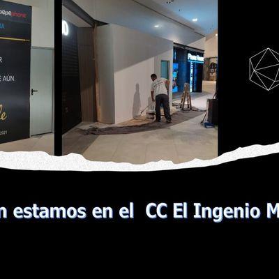 Reforma en el C.C El ingenio (Málaga)