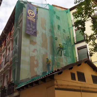 Reparación de fachada lateral
