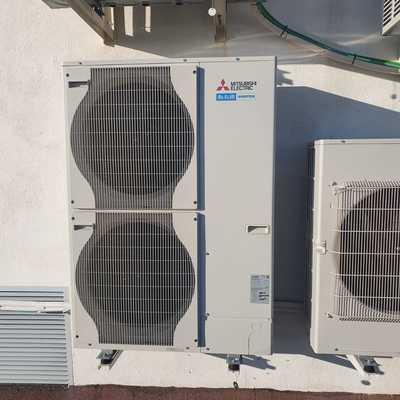 Instalación de aire acondicionado de conductos