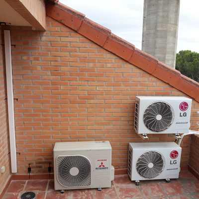 Instalación multiple de aire acondicionados en viviendas